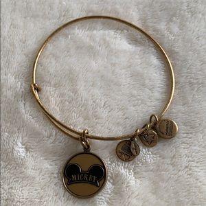 Alex and Ani Disney Gold Mickey Hat Bracelet 2014